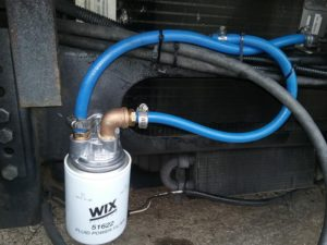 F53 Transmission filter change and flush – 1999 Southwind 35S