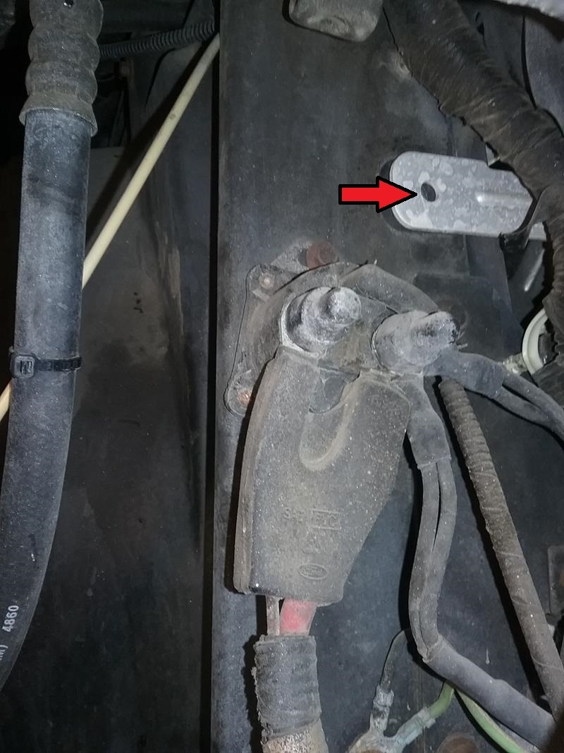 F53 - Replacing starter - 1999 Southwind 35S | Ford F53 Southwind Wiring |  | 1999 Southwind 35S